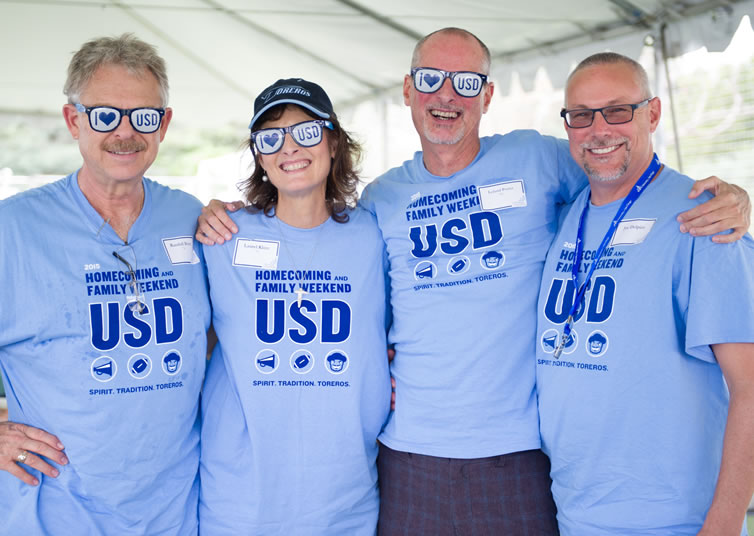 USD Homecoming & Family Weekend 2016