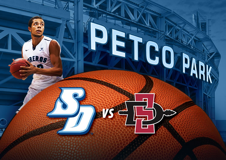 USD Basketball at Petco Park