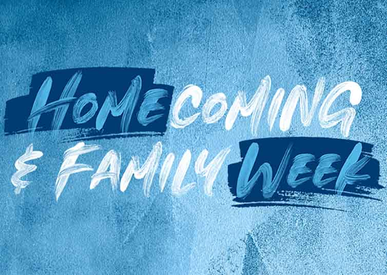 RELIVE HOMECOMING & FAMILY WEEK EVENTS